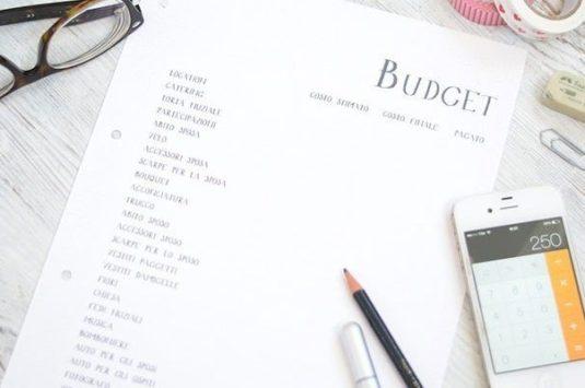 Come stilare un budget per il matrimonio